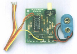 LOW COST OP AMP FUNCTION GEN.