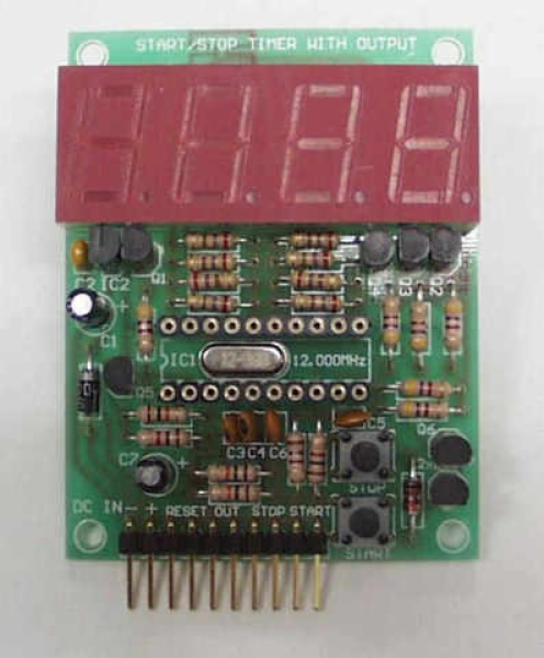 Modify A Led Chaser Circuit Into The Easy Timer