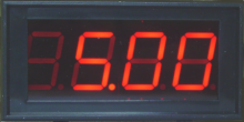 LED Digital Panel Meter with 5V Common Ground