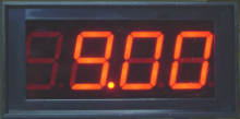 LED Panel Meter, 9V Independent Power Supply Version