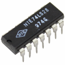 74LS28 - Quad 2-In NOR Buffer