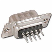 9 Pin Male PC Mount D-Sub Connector