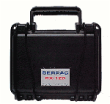 R-120 BLACK Small Case for transporting delicate instruments