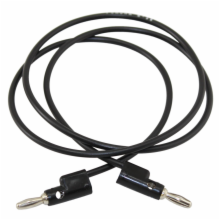 Pomona 36in Black Banana Plug Patch Cord