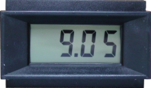 3-1/2 Digit LCD Panel Meter - Enhanced Common Ground Version