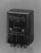 24VAC 3PDT Relay R10-14A10-24