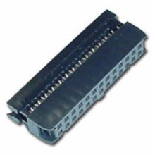 26 Contacts, Dual Row 0.1 x 0.1 Female IDC Socket Connector