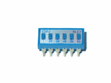 6 Pole Heavy Duty IC Type Dip Switch with Gold Contacts