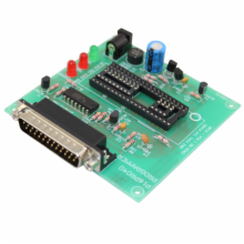 Assembled Parallel Port PIC Programmer Board