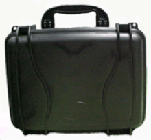 Rugged Case for Transporting Delicate Instruments - R-520 BLACK