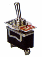 SPST ON/OFF Medium Duty Toggle Switch
