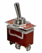 SPDT ON/OFF/ON Medium Duty Toggle Switch