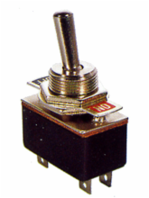 SPDT ON/ON Standard Duty Toggle Switch