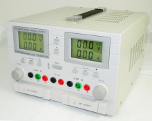 Triple Output DC Bench Power Supply 0-30V/0-5A w/Large LCD Display