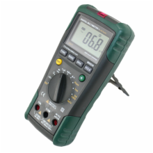Autoranging Digital Multimeter with Lan/Tone/Phone Tester