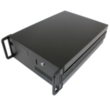 20 slot chassis with 300 watt PS/2 power supply, Black color