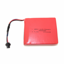 2 Wire li-Polymer Replacement Battery for Hantek Handheld DSO