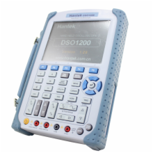 200MHz Hand Held Oscilloscope w/Digital Multimeter Functions