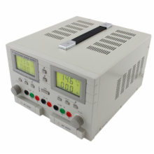 Bench Power Supply,0-30VDC x 2, 5V fixed x 1