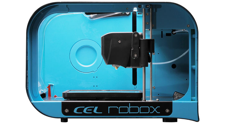 Side view of the Robox 3D printer
