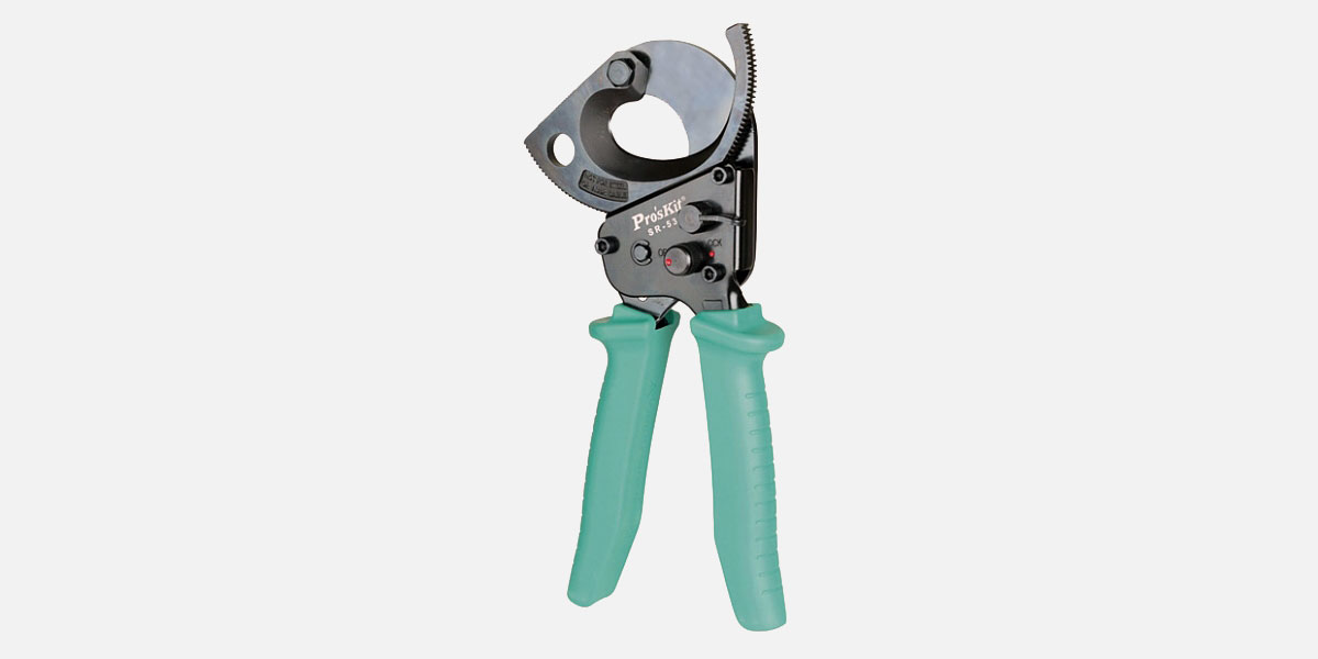 Ratchet Cutter with Extended Handles