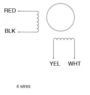 4_wire 1 nema 14 stepping motor 1 4 kg cm 4 wire 35byg409 nema 10-50r wiring diagram at mr168.co