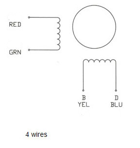 4_wire nema 23 stepping motor 24 0 kg cm 4 wire 57bygh310 nema 10-50r wiring diagram at mr168.co