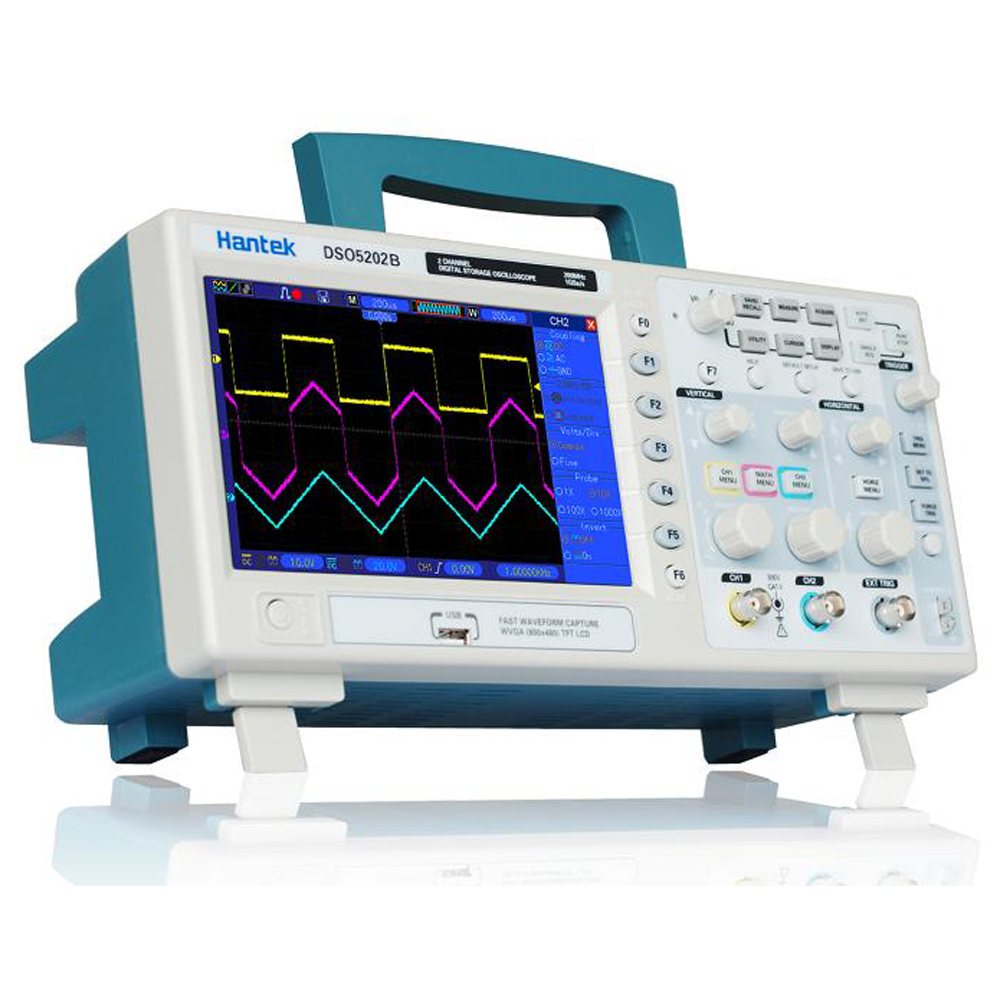 Digital Storage Oscilloscope : Product review hantek dso b mhz digital storage